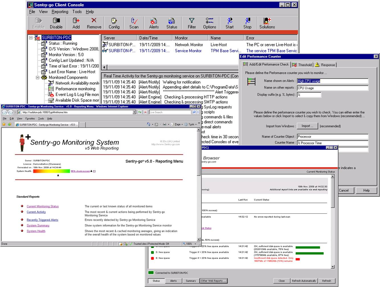 Sentry-go Quick IIS Web Monitor 6.32 full